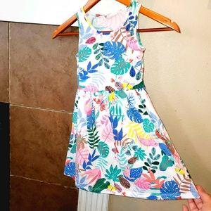 H&M Leaopard Jungle Print Pullover Summer Sundress